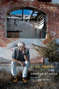 Stipo Pranyko con cuadros blancos